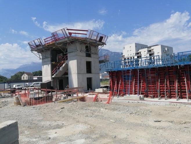 Visite de chantier du 21 juillet 2020